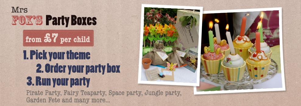 kids party boxes