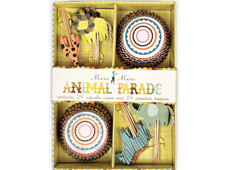 Animal Parade Cup Cake Kit