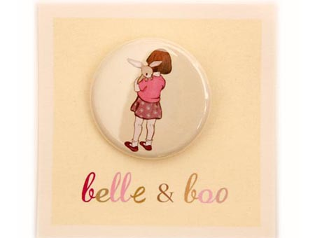 Belle & Boo Hugs Badge
