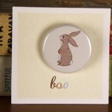 Belle & Boo Boo Badge