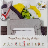 Belle & Boo Treat Time Donkey and Cart