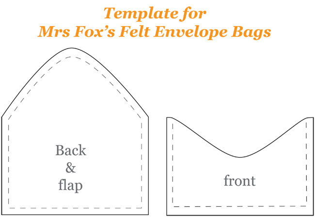 how to make an envelope bag