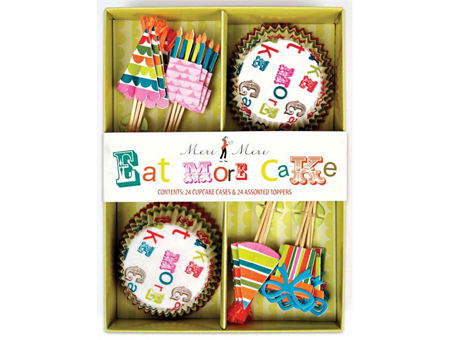 Eat More Cake Cup Cake Kit
