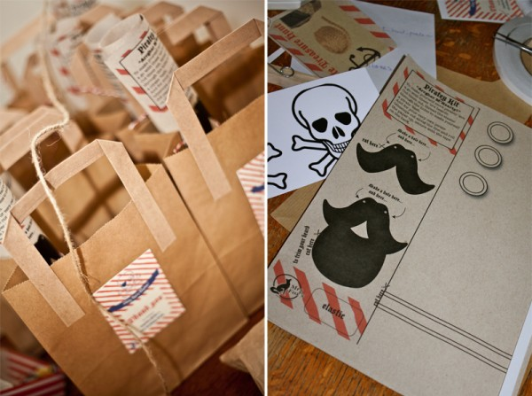 Mrs Fox's pirate party